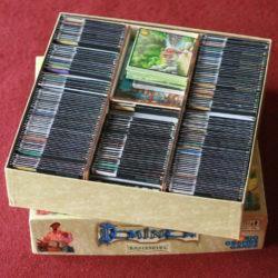 Sechs Schachteln in einer Schachtel