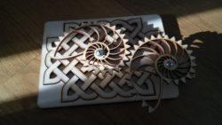 Keltischer Knoten und Nautilusgetriebe