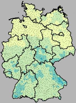 Die aktuelle Karte