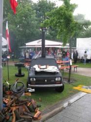 Polnischer Fiat von vorne...