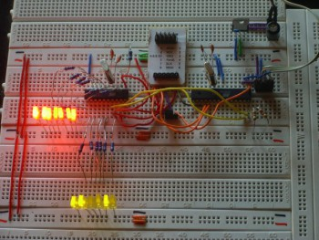Breadboard in action