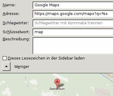 Geht auch in Google Maps