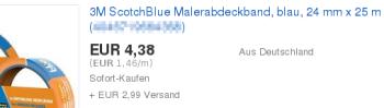 €1,46 pro M
